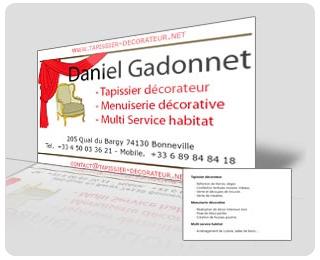 Creation De Cartes Visite Charte Graphique En Haute Savoie